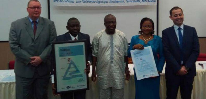Performance du système de management environnemental : Le Port de Cotonou certifié ISO 14001 version 2015