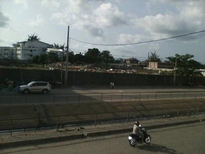 Mairie de Cotonou:La maison du peuple de Wologuèdè démolie