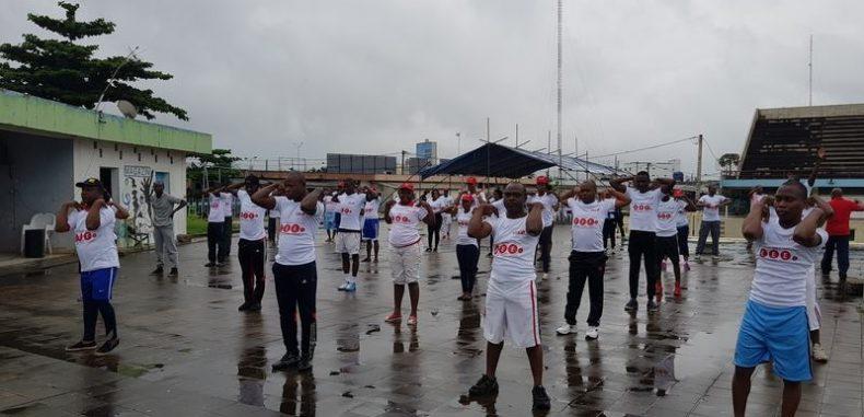 Le personnel de UBA Bénin prône ses valeurs au jogging à Bond