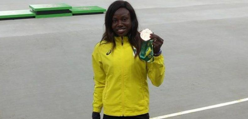 8èmes Jeux de la Francophonie, Abidjan 2017 : Noelie Yarigo décroche une médaille d'argent