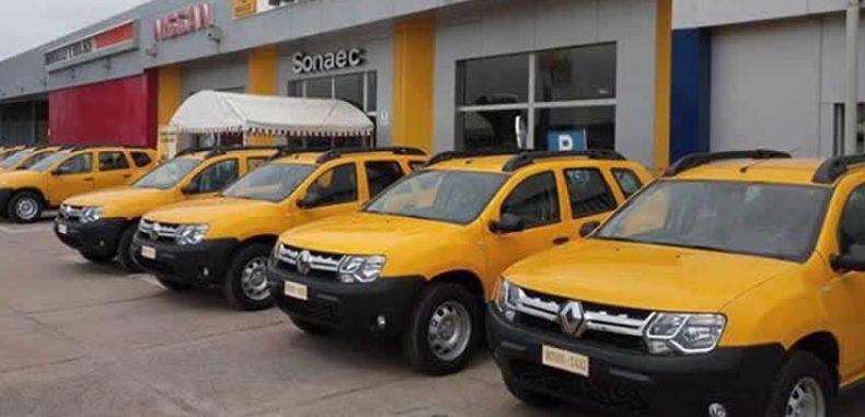 Transport inter-Urbain Bénin Taxi met 250 véhicules en circulation ce jeudi