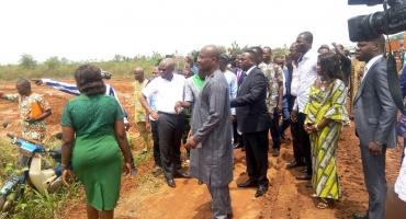 Construction de l'aéroport de Glo-Djigbé: La libération des sites préoccupe