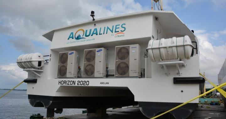 Transport lagunaire: Aqualines propose des services innovants sur la lagune Ebrié