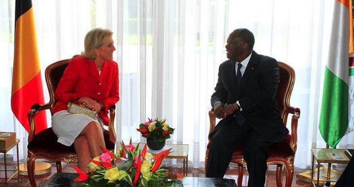 Côte d'Ivoire : Le Chef de l'Etat a eu un entretien avec Son Altesse Royale la Princesse Astrid de Belgique