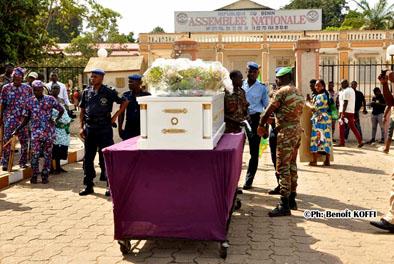 Obsèques de Joseph Adjignon Kèkè à Avrankou:Talon et Houngbédji saluent un grand homme