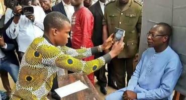 Démarrage le 1er novembre du Ravip:Le président Patrice Talon s'est fait enrôler comme bon nombre de citoyens