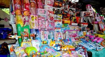 Fêtes de fin d'année: Mévente de jouets à Cotonou