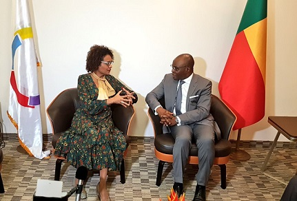 Bénin:La Secrétaire de l'OIF, Michaelle Jean à Cotonou
