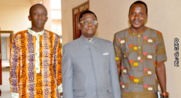 Cour constitutionnelle: Théodore Holo reçoit une délégation de « SOS Civisme Bénin »