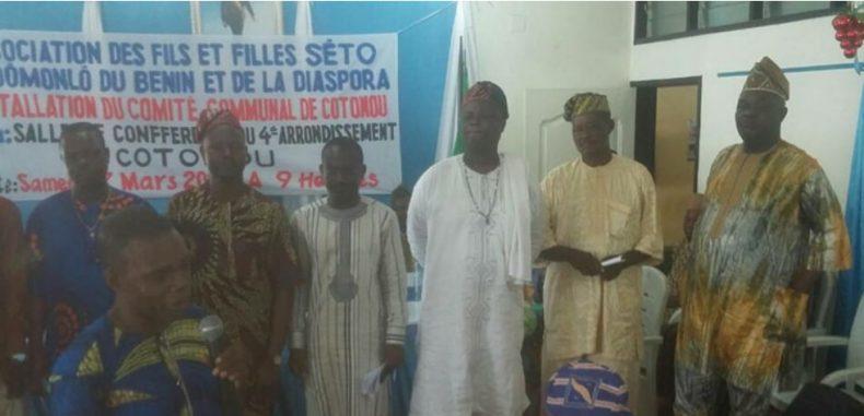 Cotonou : Dénis Koudjo Installé à la tête de la communauté Sèto Dodomonlo