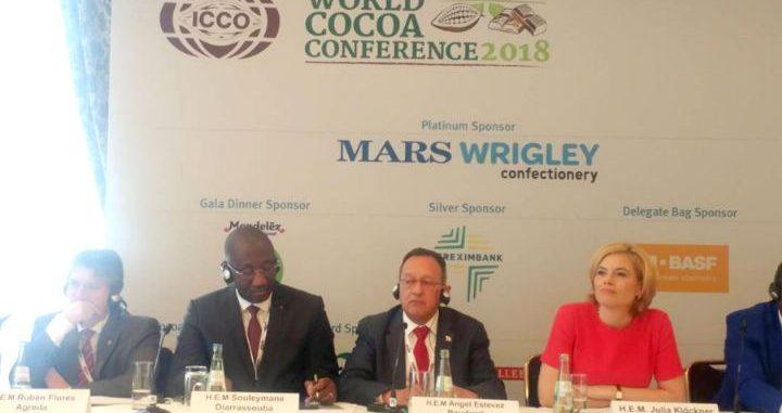 Côte d'Ivoire – 4ème conférence mondiale sur le cacao: la déclaration du Ministre Souleymane Diarrassouba