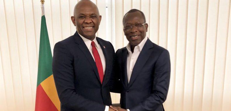 Le Président du Conseil d'administration de UBA Tony O. Elumelu en visite officielle au Bénin