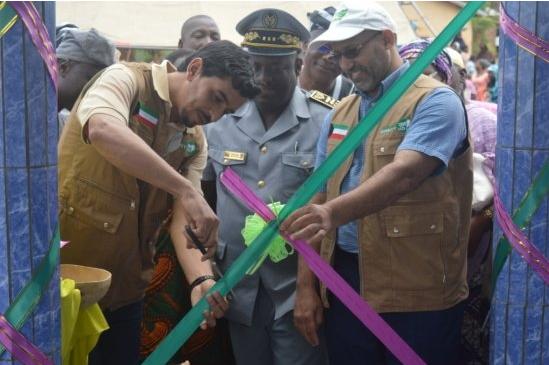 Inauguration d'infrastructures d'adduction d'eau villageoise (Aev) :Direct Aid fait œuvre utile à Gah Marou et Kpari Sérou