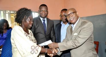Libération du site de l'aéroport de Glo-Djigbé: La remise de chèques aux expropriés se poursuit
