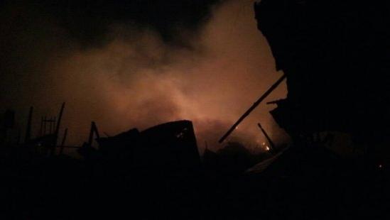 Incendie au marché Dantokpa
