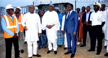 Visite du ministre nigérien des Transports au port de Cotonou: Karidio Mouhamadou séduit par la modernité des installations portuaires