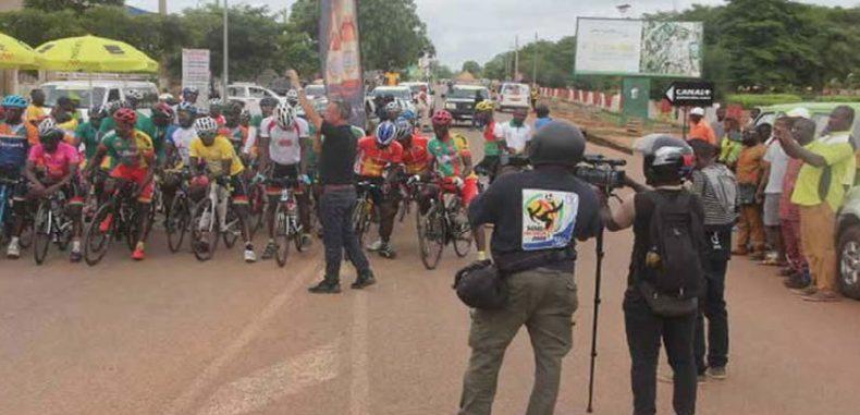 4e étape du 15e Tour cycliste international du Bénin : Abomey en mode Sobebra, Abdoul Aziz Nikiema vainqueur de l'étape