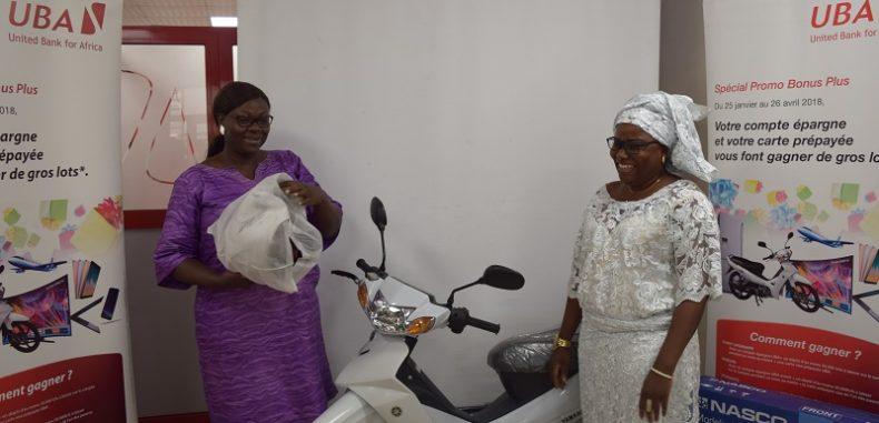 Et de 3 : UBA Bénin récompense encore ses clients