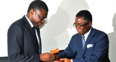 Cour constitutionnelle: Joseph Djogbénou et son équipe déjà en fonction