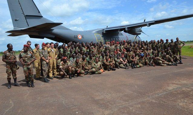 Campagne de saut à Cana:De nouveaux élèves parachutistes brevetés