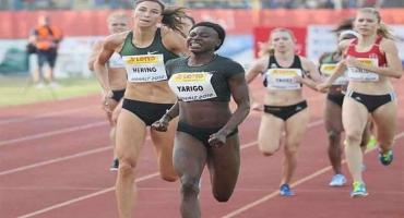 Athlétisme / Meeting international Golden Spike: Ostrava Noélie Yarigo sur la ligne de départ ce jour
