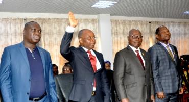 Prestation solennelle de serment et installation du Cos-Lépi: L'appel à la responsabilité de Joseph Djogbénou