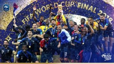 Coupe du monde 2018: La France championne