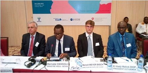 Séminaire UEMOA / CSAO- OCDE Cotonou, carrefour de la coopération transfrontalière en Afrique de l'Ouest
