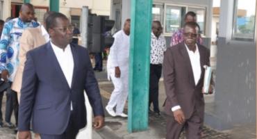 Visite du ministre des Transports au péage/pesage d'Ekpè: Le gouvernement soucieux de l'entretien des routes au Bénin