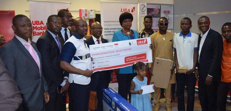 Promotion ''BONUS PLUS'' de la banque UBA:  Les gagnants du Gros lots et du troisième tirage en possession de leur lot