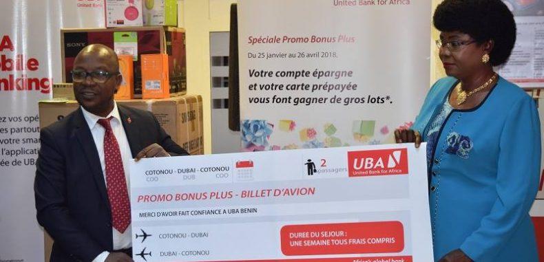 UBA BENIN RECOMPENSE LA FIDELITE DE SES EPARGNANTS