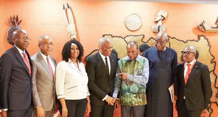 Le Président guinéen accueille Tony Elumelu, les entrepreneurs TEF et s'engage à soutenir l'entreprenariat et le secteur privé