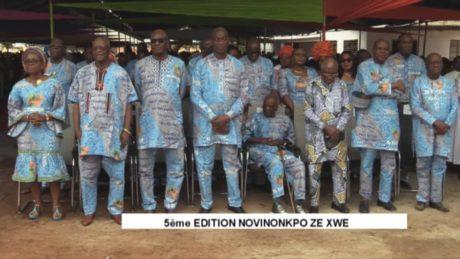 5e édition des retrouvailles des filles et fils de Zè:« Nonvinonkpo Zèxwé » gagne en maturité