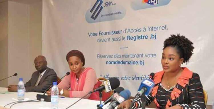Promotion de l'économie numérique : L'Arcep-Bénin et Jeny Sas lancent le nom de domaine « .bj »