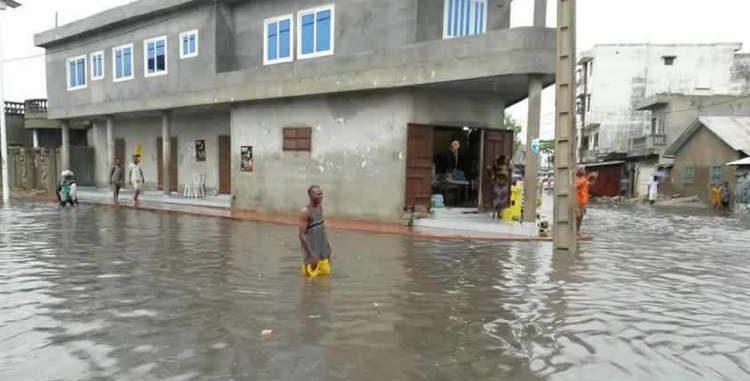 Saison pluvieuse Plusieurs quartiers inondés à Cotonou