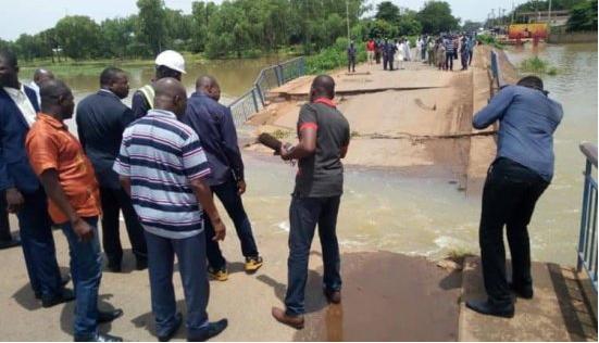 Effondrement du pont sur la Sota : Les véhicules bloqués déviés par le Burkina et le Nigéria