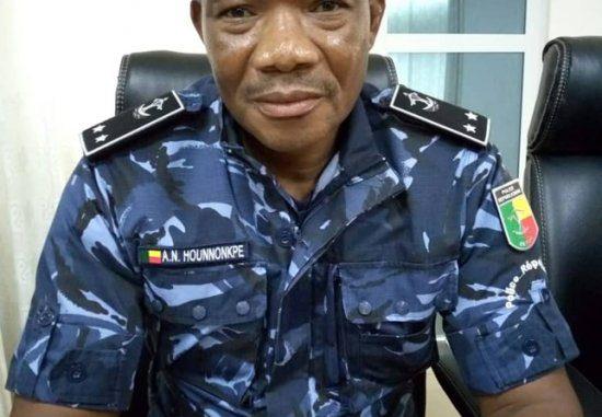 Police Républicaine : Le Dgpr Hounnonkpè procède à un redéploiement