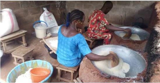 Journée Internationale pour l'Eradication de la Pauvreté A la découverte des bénéficiaires du projet emploi des jeunes