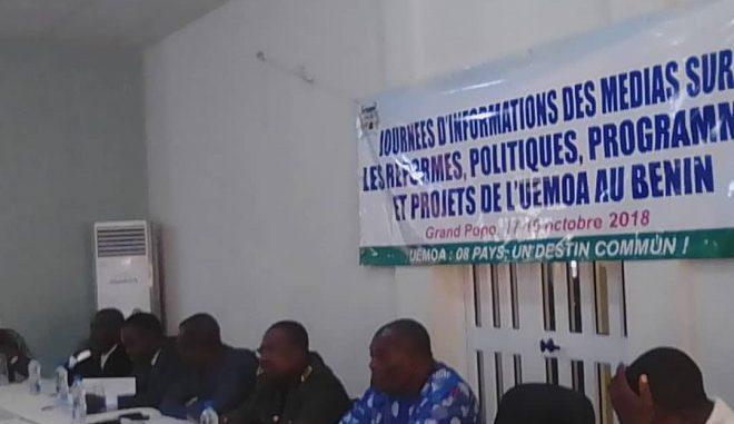 Bénin/ Intégration Économique en  Afrique de l'Ouest Les professionnels des médias s'imprègnent  des réformes politiques et projets de L'Uemoa