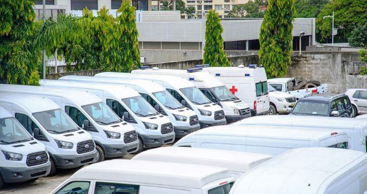 Côte d'Ivoire : don de 55 véhicules pour faciliter l'acheminement des médicaments dans les centres de santé