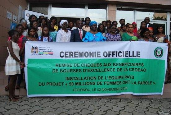 Promotion du genre La CEDEAO octroie 35 bourses aux jeunes filles brillantes du Bénin