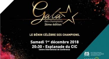 Gala des champions 2018: Les meilleurs sportifs béninois célébrés samedi prochain