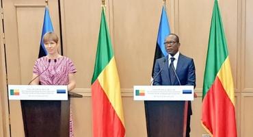 Visite à Cotonou de la présidente Kersti Kaljulaid: L'Estonie prête à accompagner le Bénin
