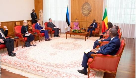 Visite de la présidente d'Estonie au Bénin L'axe Cotonou-Tallinn se renforce