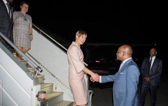 Coopération bilatérale Kersti Kaljulaid, la Présidente de l'Estonie à Cotonou