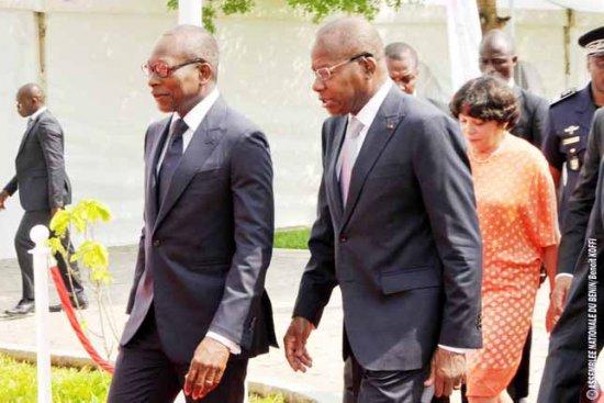 36ème session de l'Assemblée parlementaire paritaire ACP-UE : Patrice Talon et Adrien Houngbédji lancent les travaux