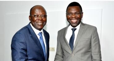 Rencontre technique: Abdoulaye Bio Tchané au cabinet de Joseph Djogbénou