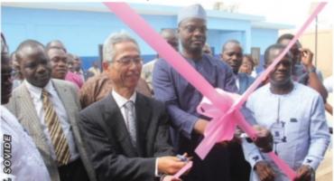 Coopération bénino-japonaise: Des infrastructures d'eau potable inaugurées à Glazoué