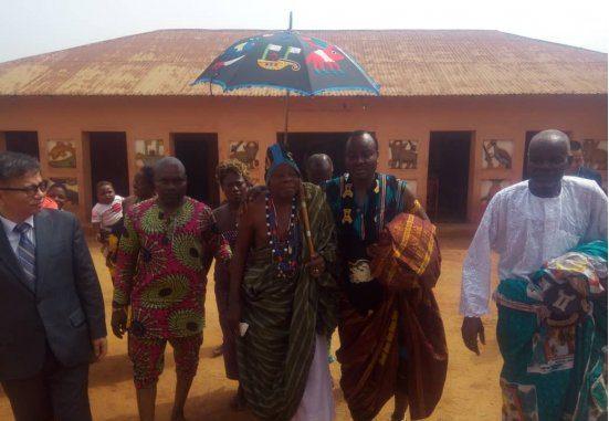 Royaume de Danxomè Dada Sagbadjou Glélé intronisé comme nouveau roi d'Abomey
