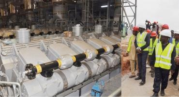 Centrale électrique de Maria Gléta 2 : 90% de réalisations physiques
